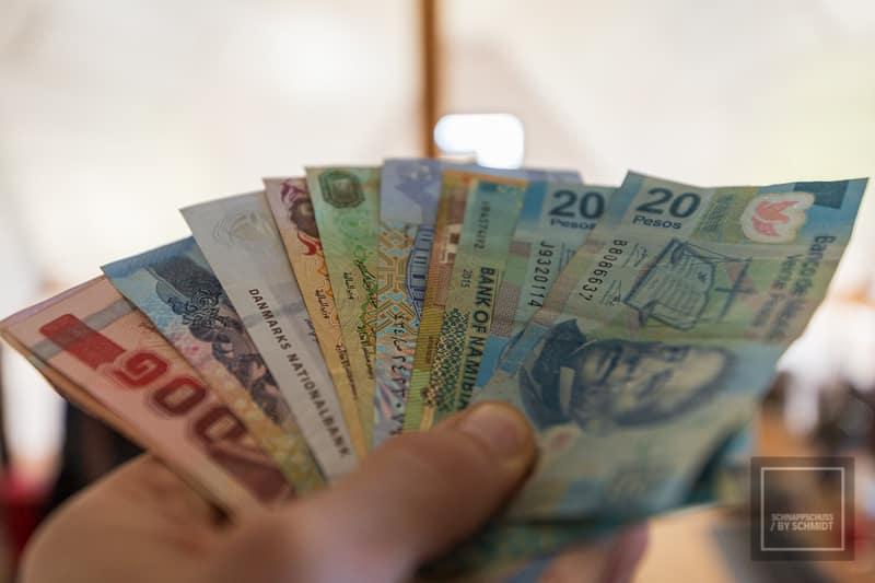 Reisekreditkarte Bargeld