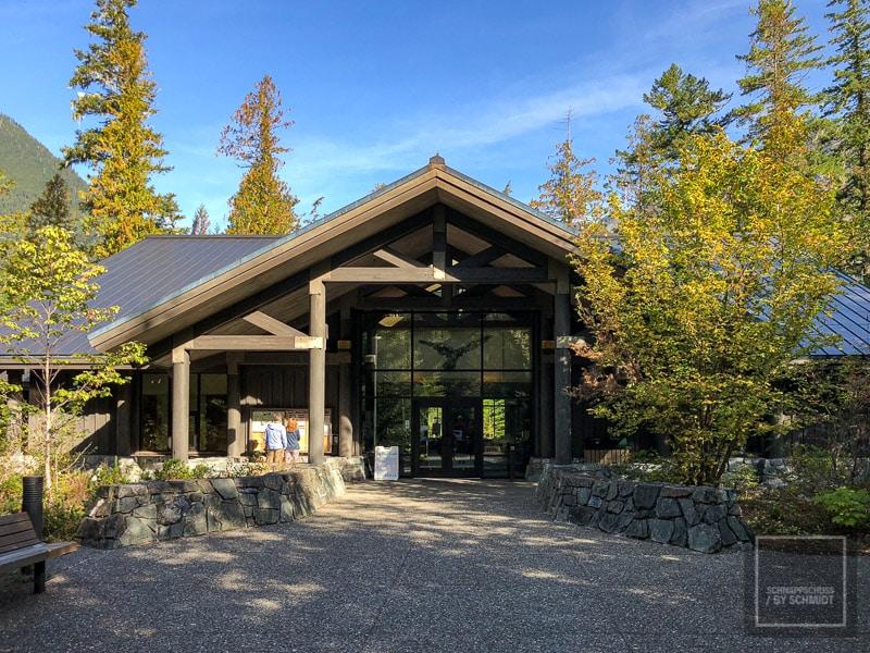 North Cascades National Park - Besucherzentrum