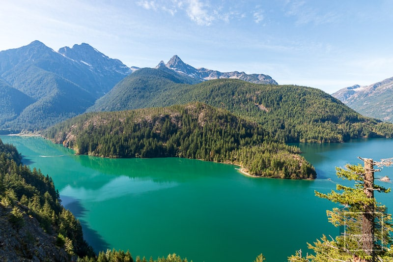North Cascades National Park - Diablo Lake 2