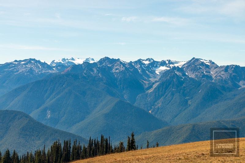 Olympic National Park - Bergkette