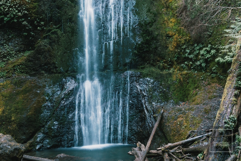 Olympic National Park - Wasserfall