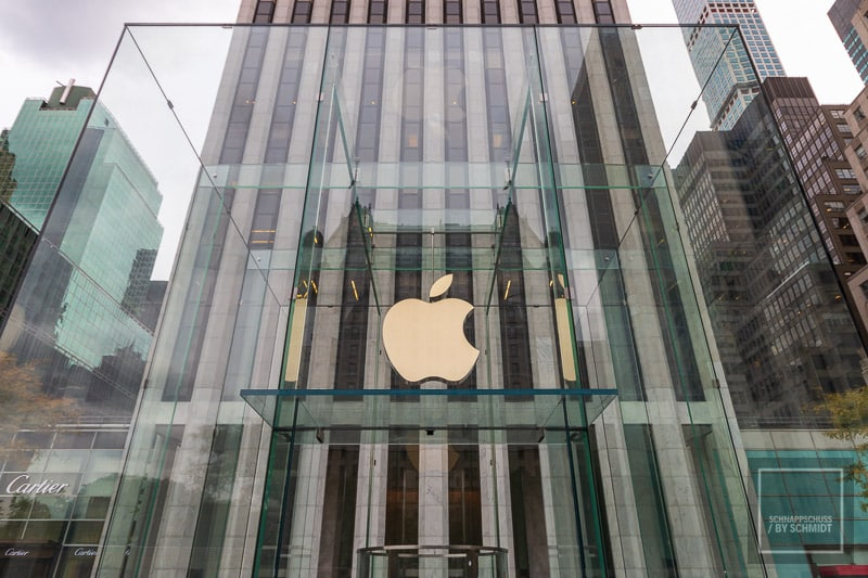New York City - Apple Store 5th Avenue