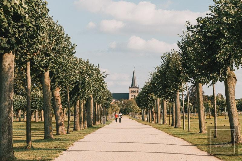 Archäologischer Park Xanten - Allee