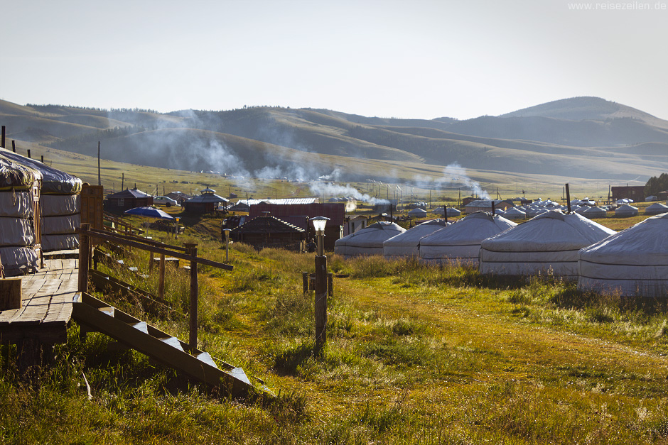 Ger Camp_Mongolei