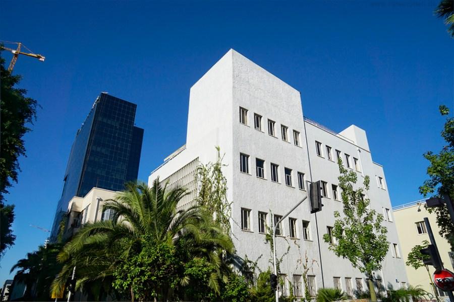 Israel Reisen Reisetipps Tel Aviv White City Bauhaus