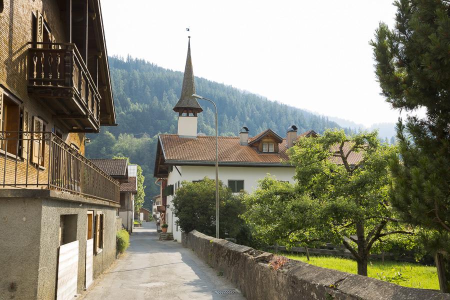 Hoteltipp Graubünden Schweiz Türmlihus Fideris