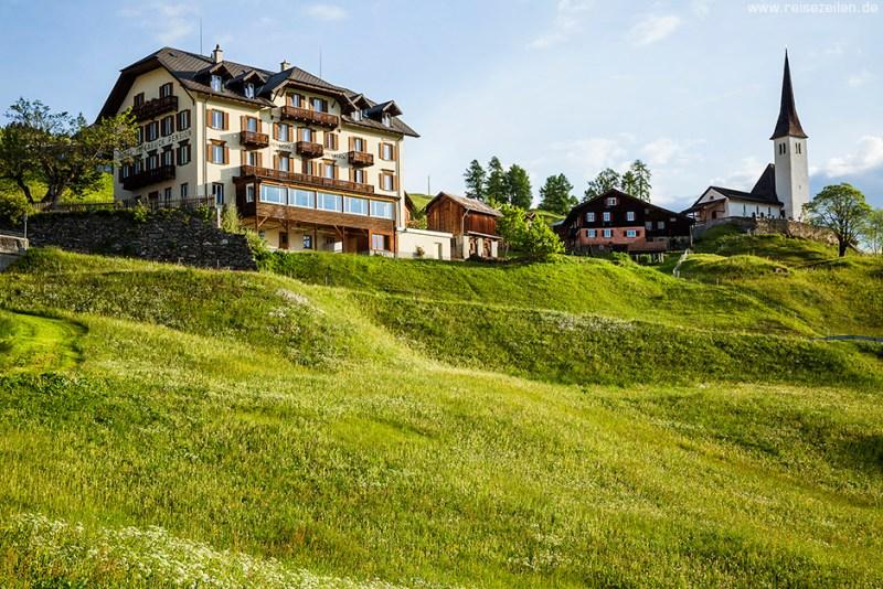 Safiental_Tenna_Pension Alpenblick Graubünden Schweiz