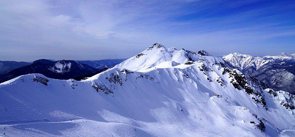Skigebiet in Russland