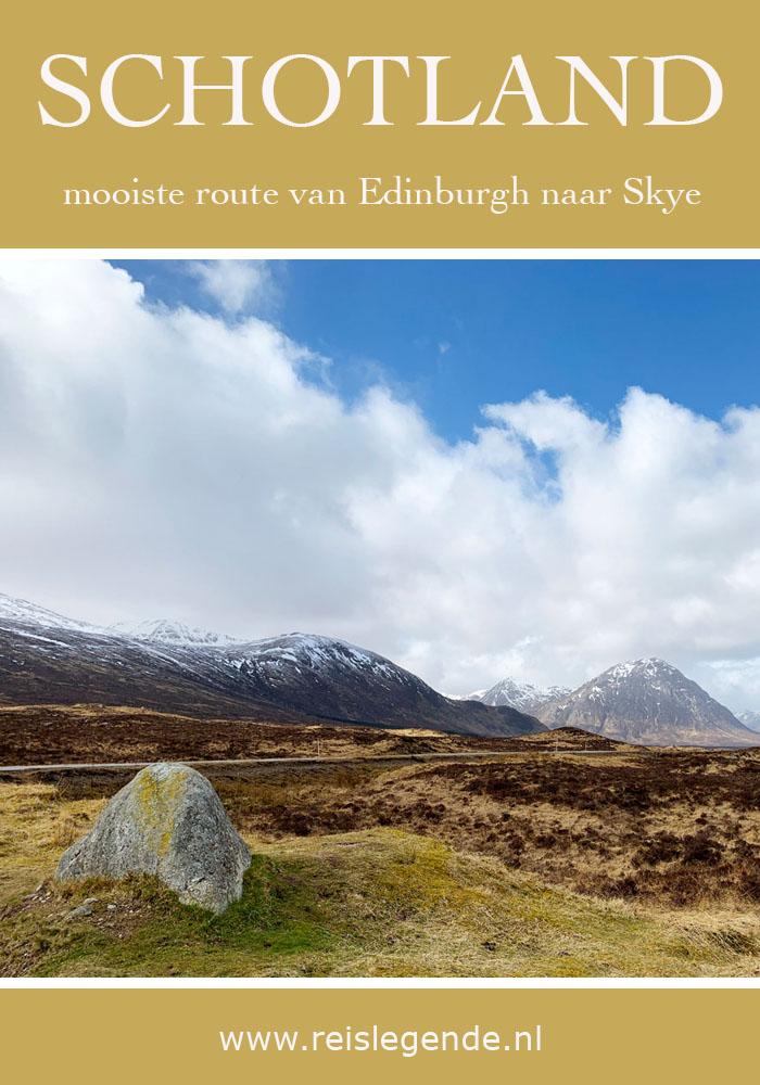 De mooiste route van Edinburgh naar Isle of Skye - Reislegende.nl