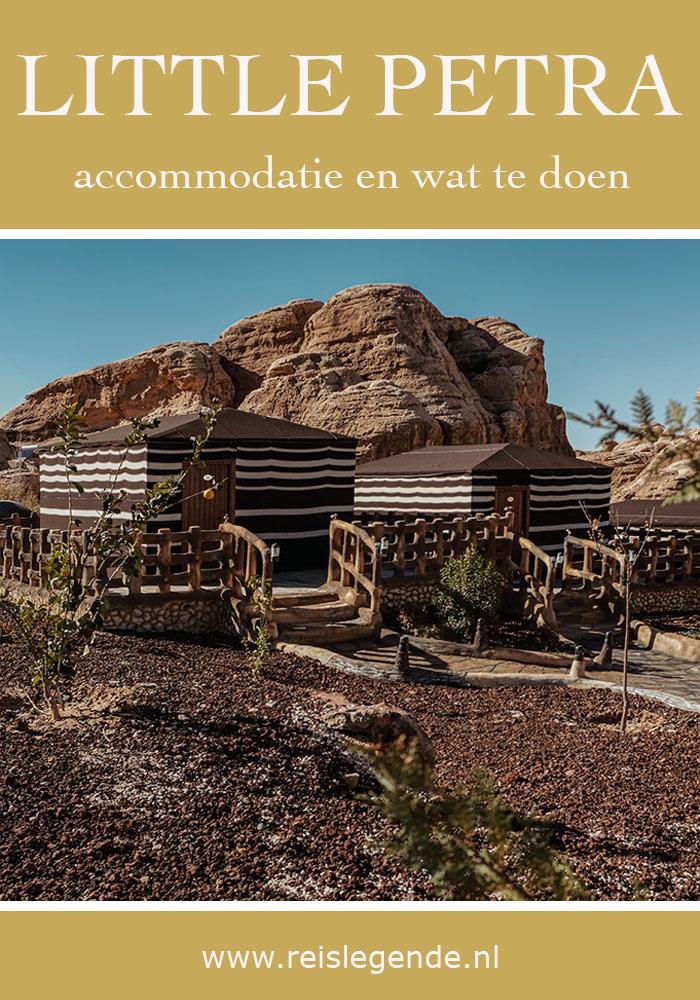 Seven Wonders Luxury Camp, overnachten bij Petra - Reislegende.nl