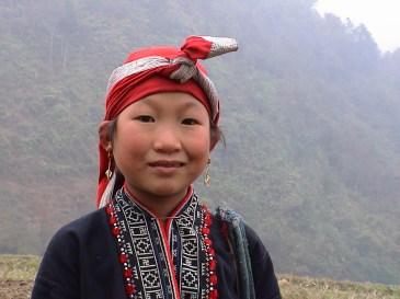 Sapa Red Hmong meisje