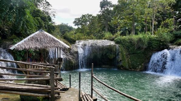 Rondreis Filipijnen: Pangas Falls Bohol watervallen