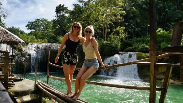 Rondreis Filipijnen: Pangas Falls Bohol