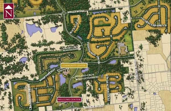 Jerome Village Neighborhood Map