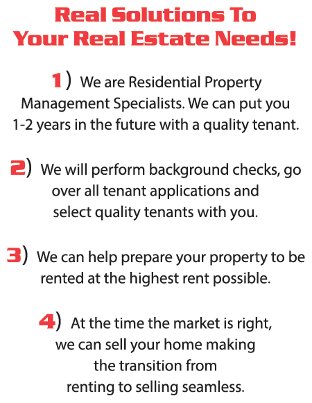 Real Solutions to your Real Estate Needs