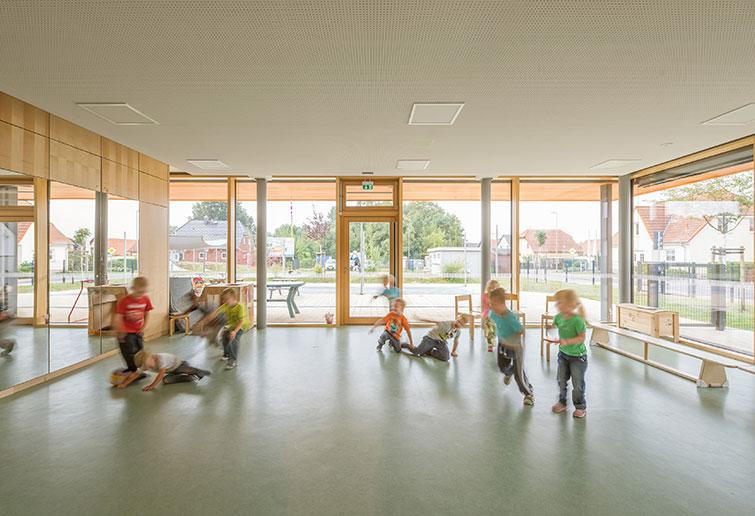 kologischer Kindergarten  Passivhaus Dresden Reiter