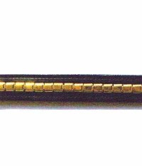 Kavalkade Stirnband Panzerkette gold breit SP