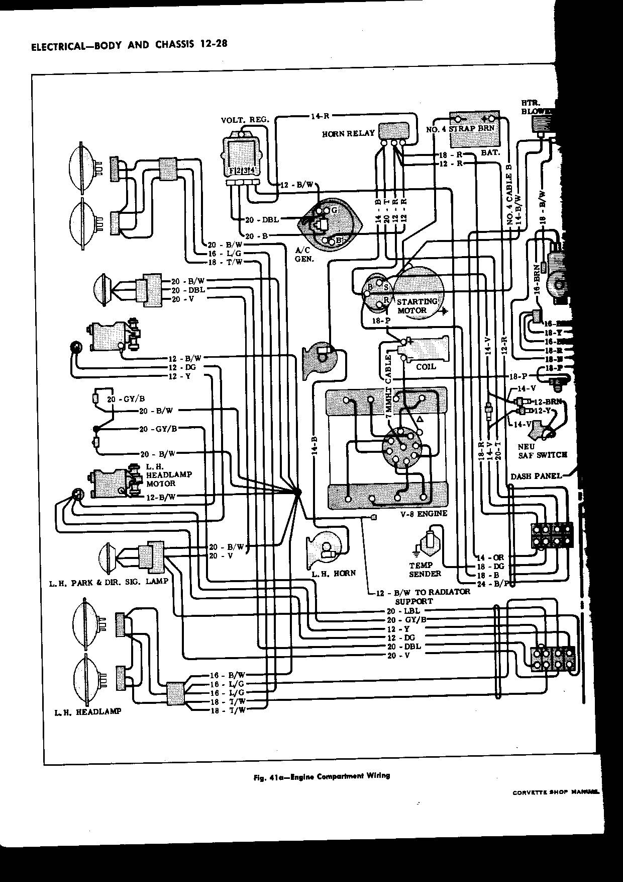 C5 Corvette Wiring Diagrams Corvette Wiring Diagram Images