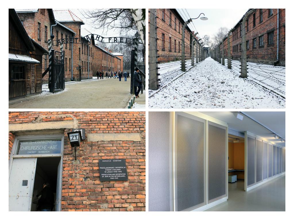 Auschwitz I, waar het allemaal mee begon.