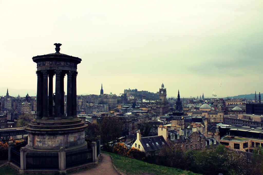 Uitzicht over Edinburgh