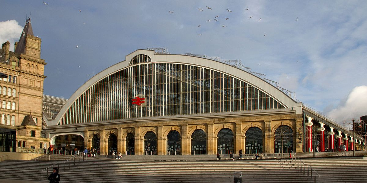 Liverpool Lime Street Railway Station