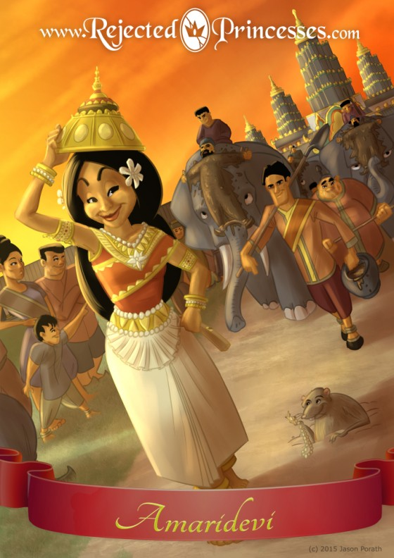 Amaridevi The Princess Who Engineered Her Own Victory