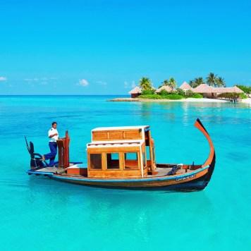 Maldives boat