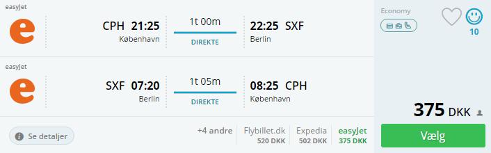 Fly til Berlin