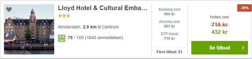 Lloyd Hotel & Cultural Embassy - Amsterdam