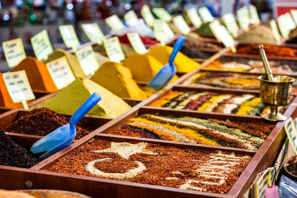 Krydderier - Antalya i Tyrkiet