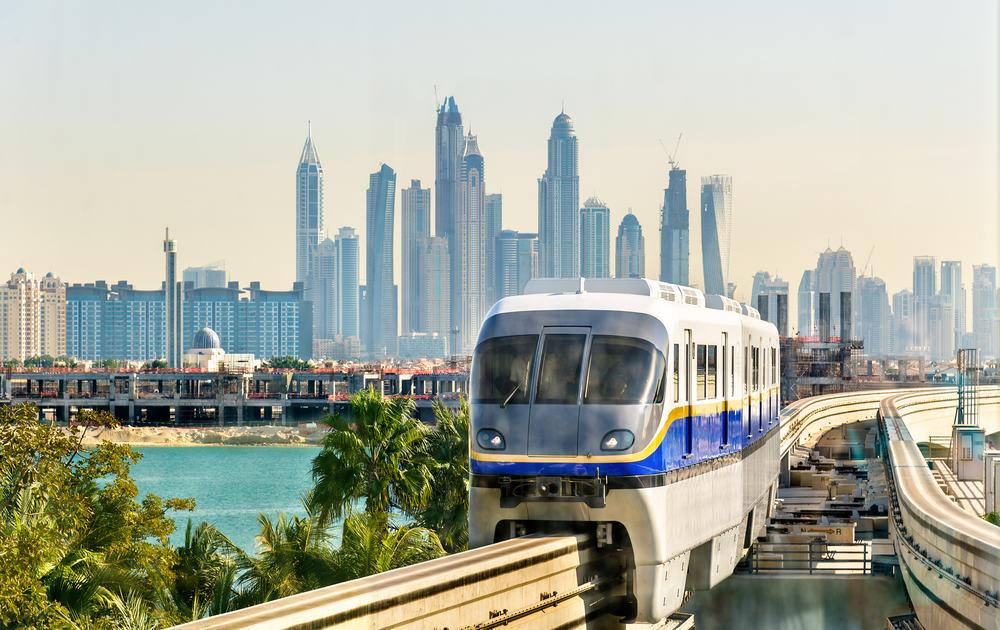 Atlantis Monorail Station i Dubai