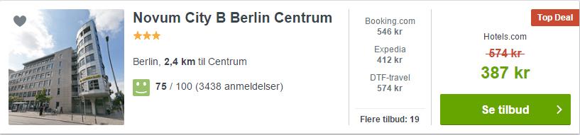 Novum City B Berlin Centrum