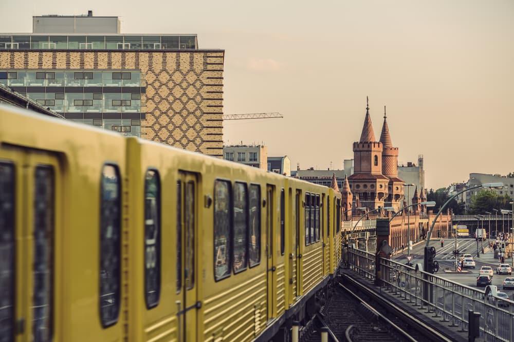Undergrundstog - Belin i Tyskland