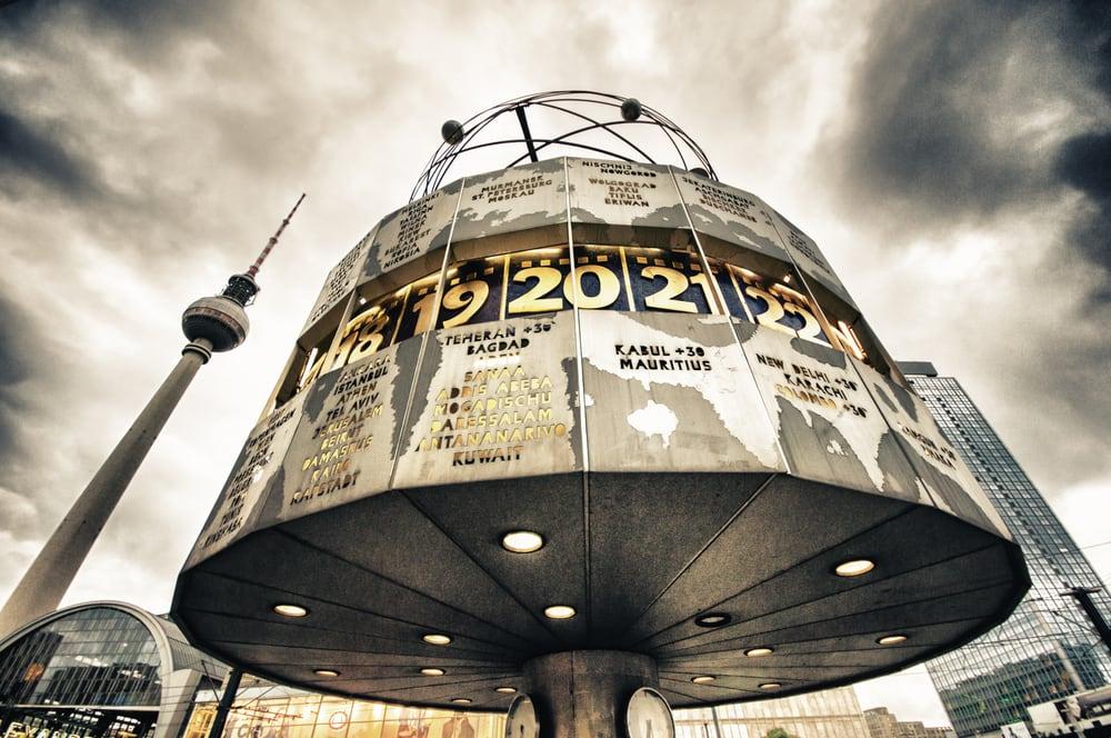 Verdensuret på Alexanderplatz i Berlin