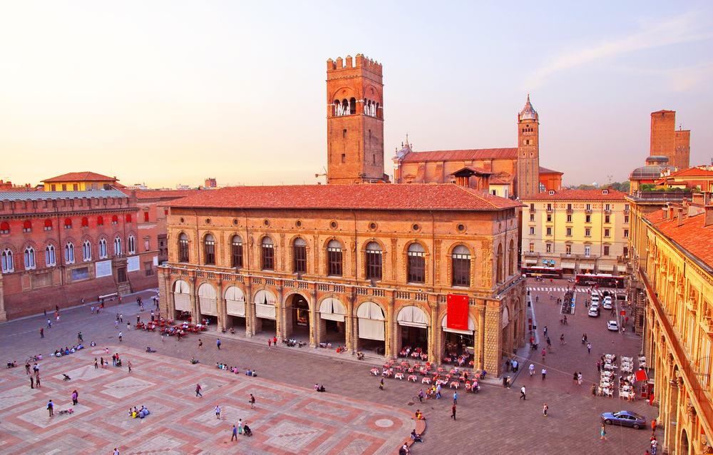 Ferie i Bologna i Italien