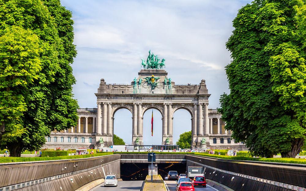 Cinquantenaire - Bruxelles i Belgien