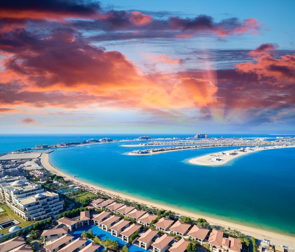 Palm Island i Dubai