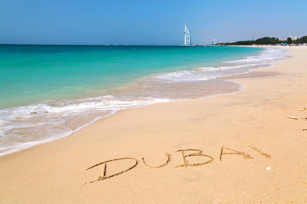 Strand i Dubai
