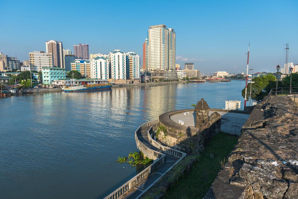 Fort Santiago - Manila i Filippinerne