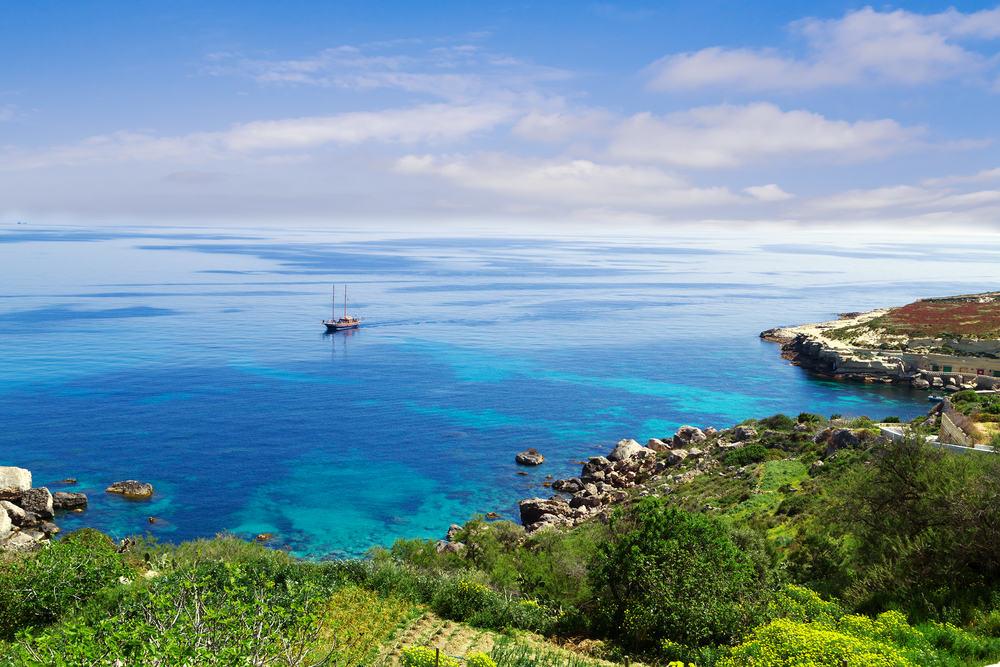 Øen Gozo på Malta