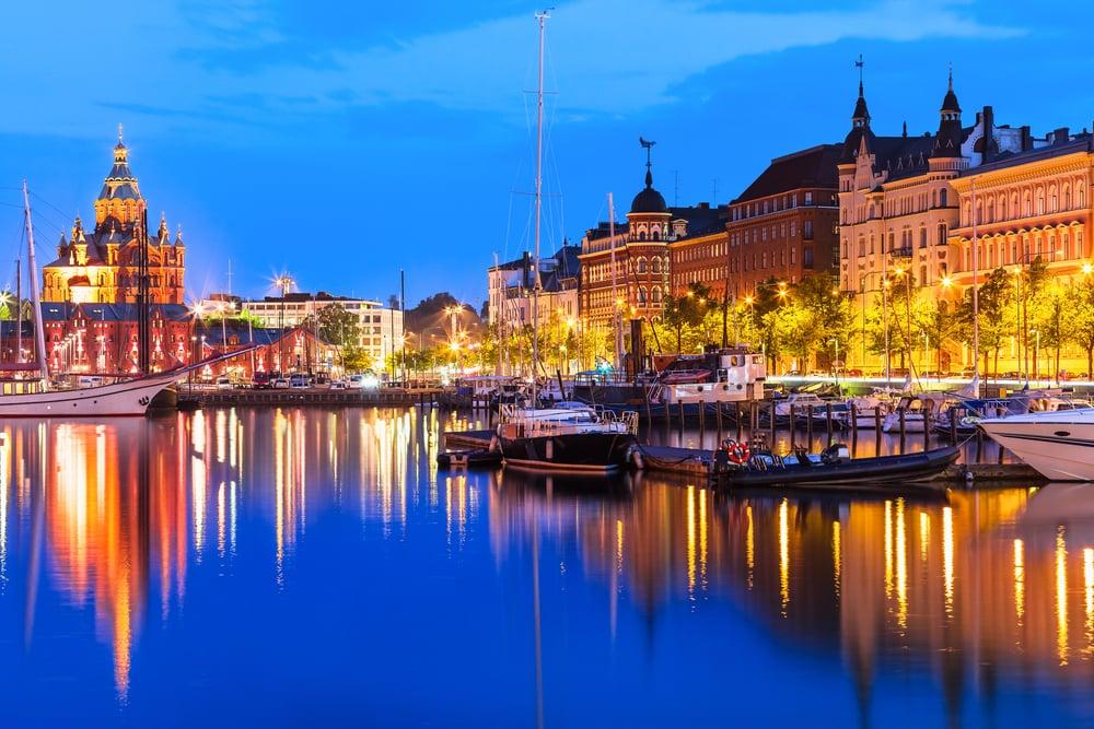 Helsinki i Finland