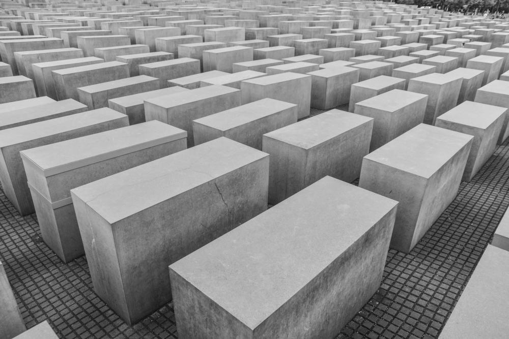 Holocaust mindesmærket - Berlin i Tyskland