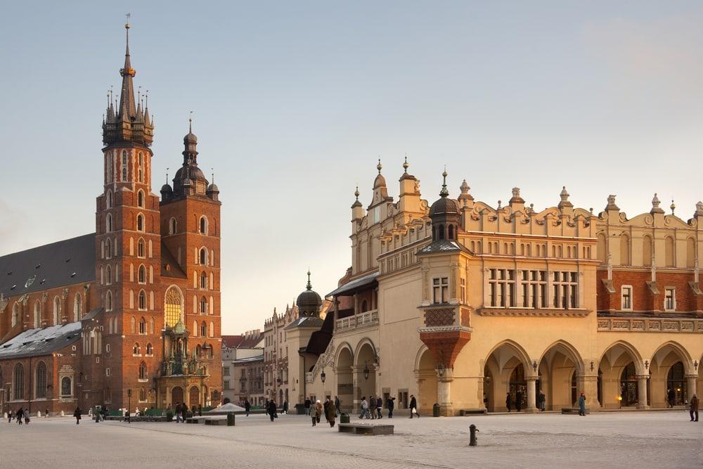St. Mary Kirken - Krakow i Polen