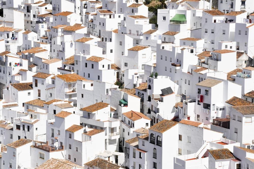 Casares i Malaga - Spanien