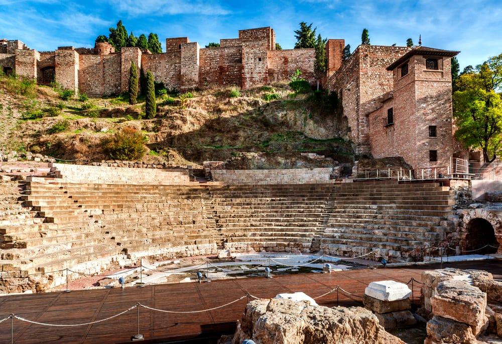 Det romerske teater i Malaga - Spanien