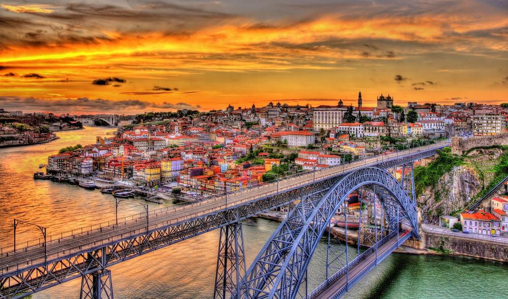 Porto - Dom Luis broen