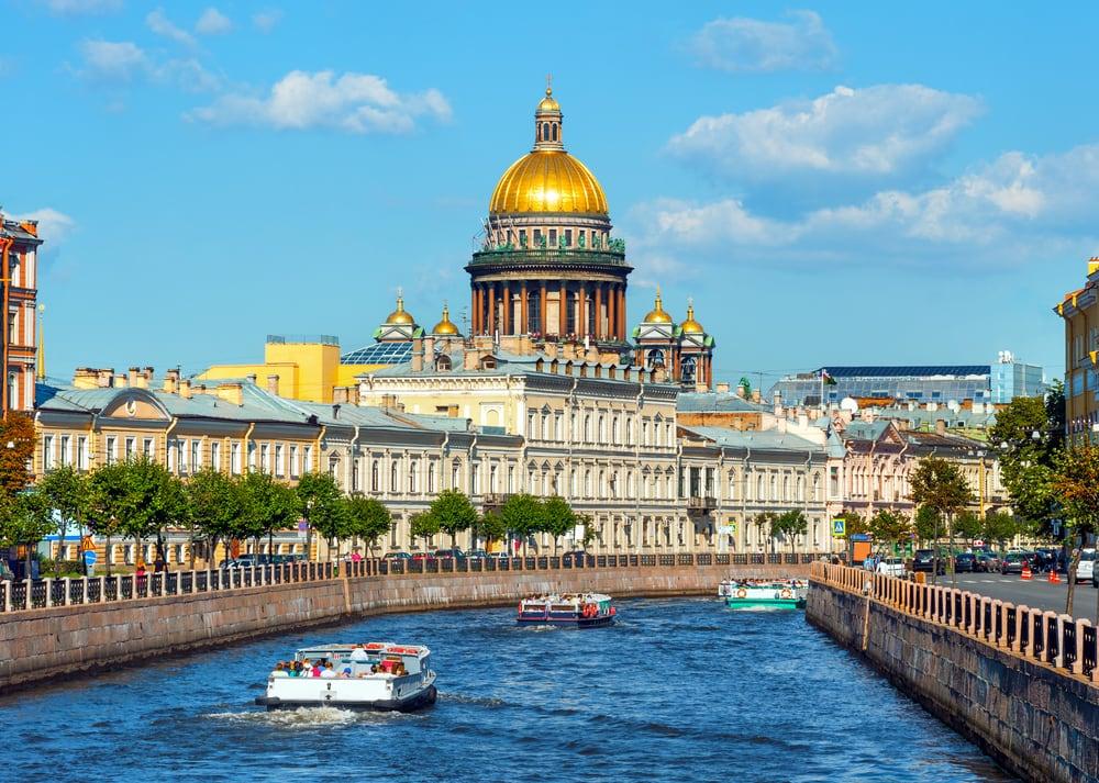 Sankt Isaac Katedralen - Sankt Petersborg i Rusland