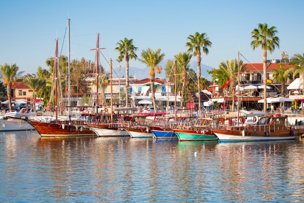 Side i Antalya - Tyrkiet