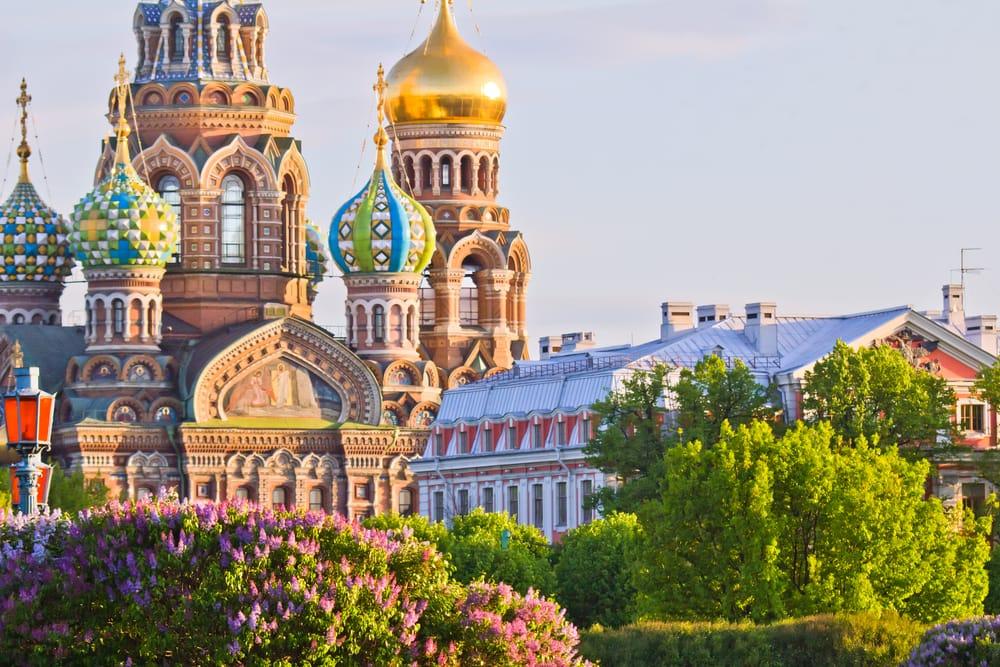 Spas na Krovi - Sankt Petersborg i Rusland