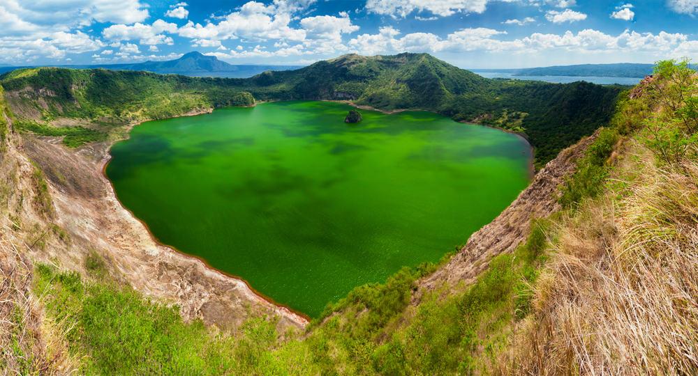 Taal vulkanen - Manila i Filippinerne